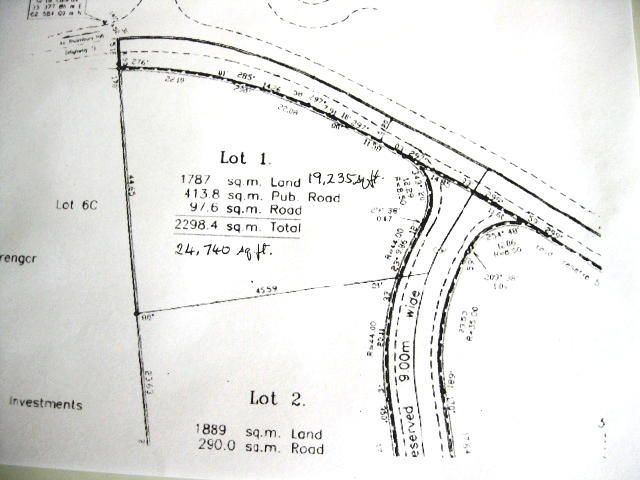 Real Estate - Christ Church - The Plot plan