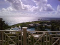 Real Estate - 00 00 Crane, Saint Philip, Barbados - Patio view of grounds & Atlantic ocean